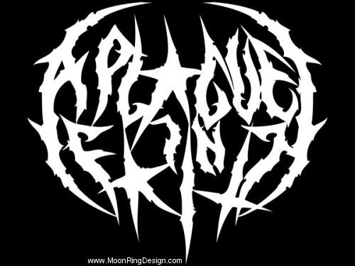 how to make a metal band logo