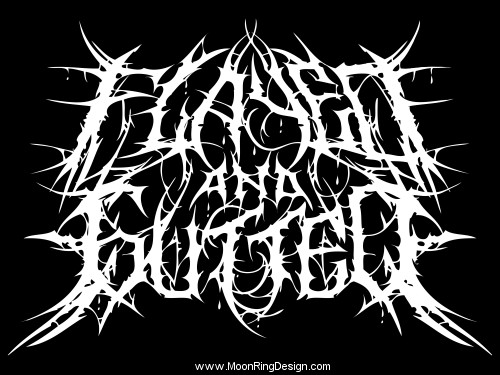 Deathcore Font Album Artworks,...